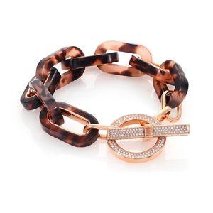 Michael Kors Blush Tortoise Link Bracelet